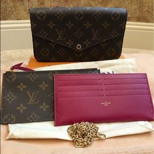 Louis Vuitton Bags - Authentic Louis Vuitton Felicie Purse!